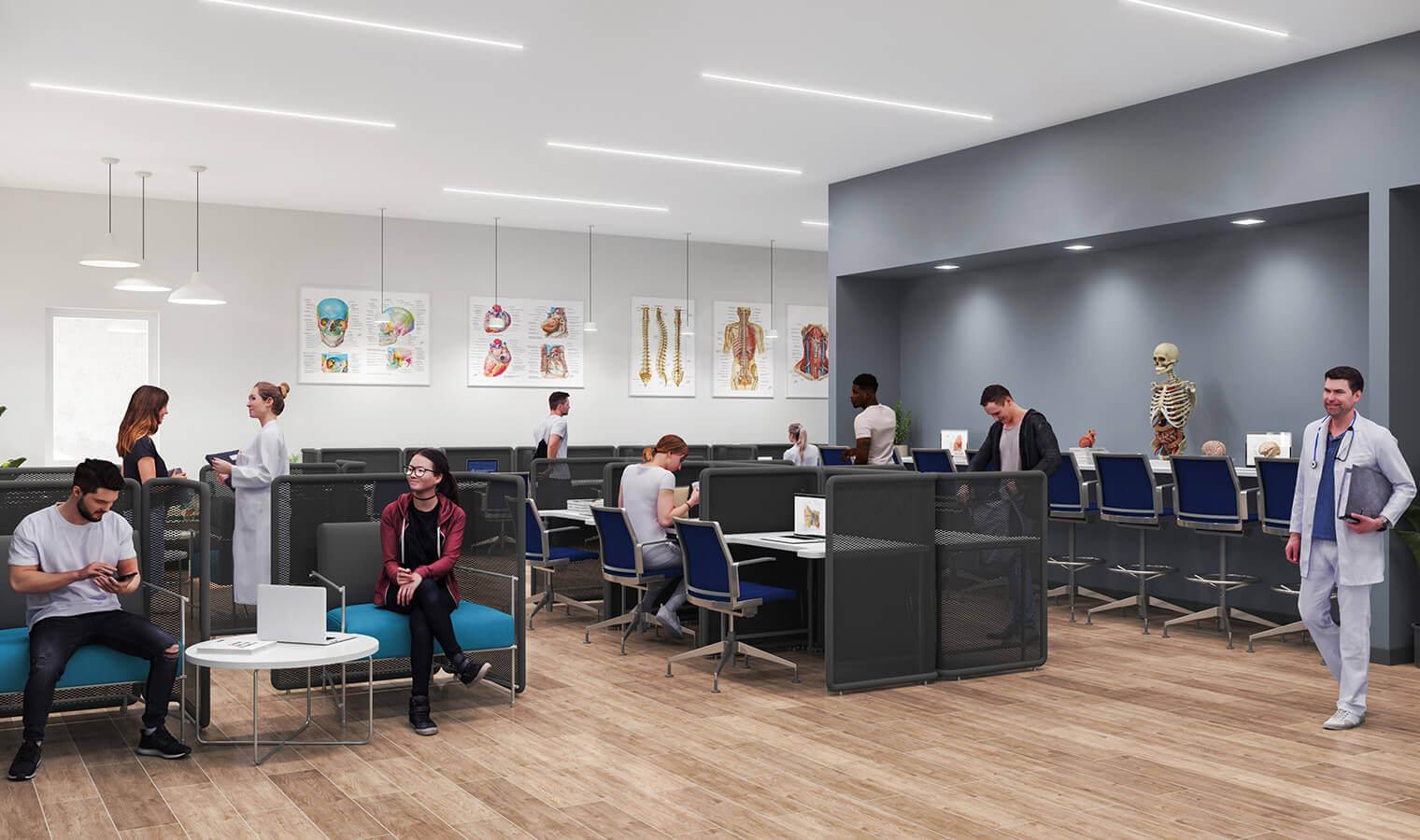 student study center